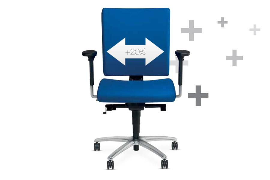 Bureaustoel Maatje Plus   Voor zware mensen   Beste keus   Bestel nu!