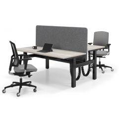 Zit-sta bench bureau Flex 3 PRO elektrisch