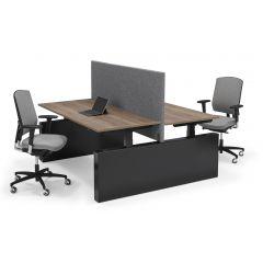 Zit-sta bench bureau Flex 3 PRO Elektrisch wang