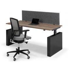 Elektrisch zit-sta bureau Flex 3 Wangpoot