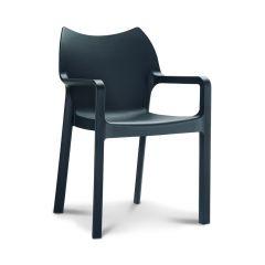 Stapelbare stoel Diva