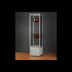 vitrinekast 50 cm met onderkast