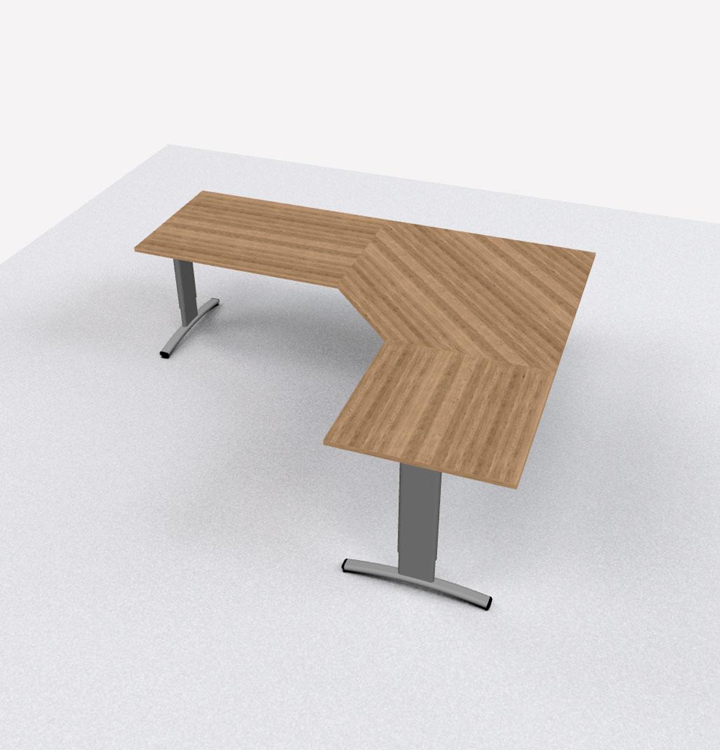 Hoekbureau Entrada CAD combinatie