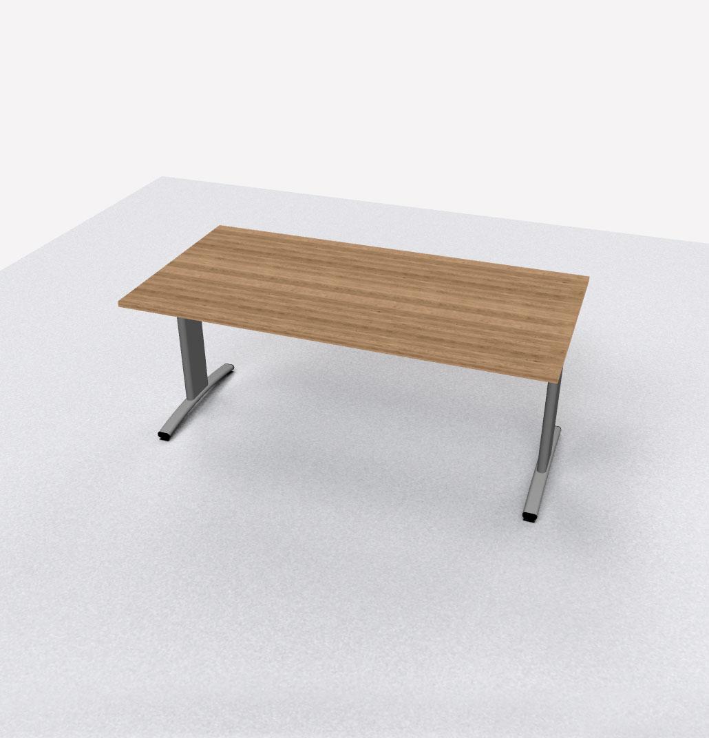 Vergadertafel rechthoekig 180x90cm